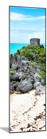 ?Viva Mexico! Panoramic Collection - Tulum Ruins along Caribbean Coastline-Philippe Hugonnard-Mounted Photographic Print