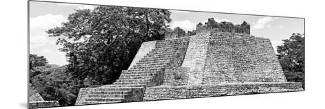 ¡Viva Mexico! Panoramic Collection - Maya Archaeological Site - Campeche II-Philippe Hugonnard-Mounted Photographic Print