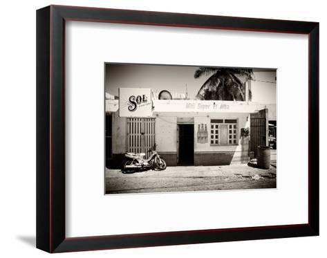 ?Viva Mexico! B&W Collection - Supermarket Isla Mujeres-Philippe Hugonnard-Framed Art Print