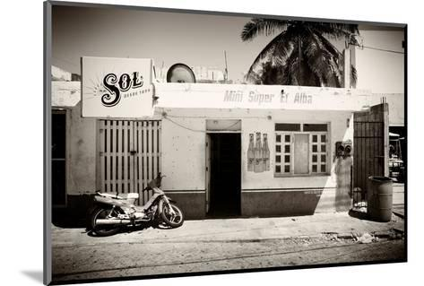 ?Viva Mexico! B&W Collection - Supermarket Isla Mujeres-Philippe Hugonnard-Mounted Photographic Print