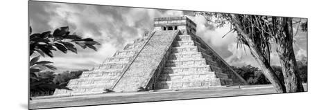 ¡Viva Mexico! Panoramic Collection - El Castillo Pyramid - Chichen Itza IX-Philippe Hugonnard-Mounted Photographic Print