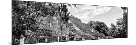 ¡Viva Mexico! Panoramic Collection - Pyramyd of the ancient Mayan City VII - Calakmul-Philippe Hugonnard-Mounted Photographic Print