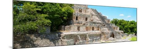 ¡Viva Mexico! Panoramic Collection - Maya Archaeological Site - Campeche VI-Philippe Hugonnard-Mounted Photographic Print