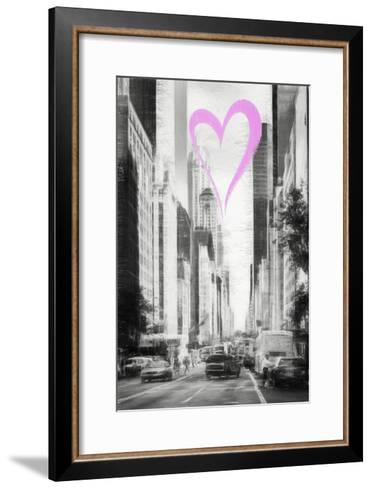 Luv Collection - New York City - Manhattan Traffic-Philippe Hugonnard-Framed Art Print