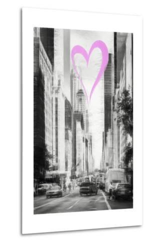 Luv Collection - New York City - Manhattan Traffic-Philippe Hugonnard-Metal Print