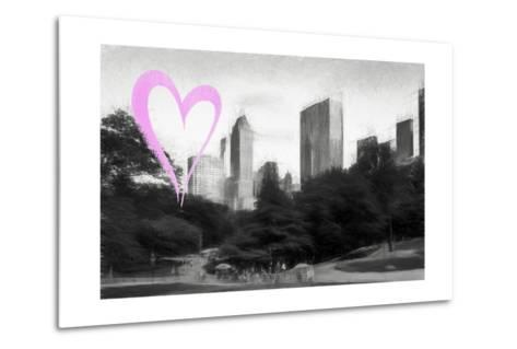 Luv Collection - New York City - The Central Park-Philippe Hugonnard-Metal Print