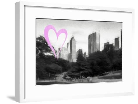 Luv Collection - New York City - The Central Park-Philippe Hugonnard-Framed Art Print