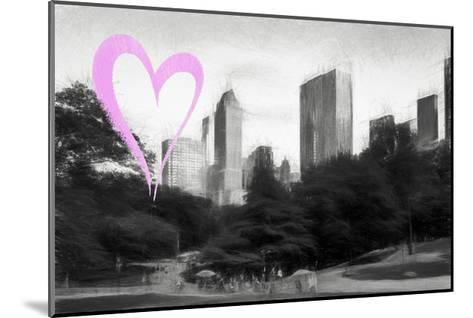 Luv Collection - New York City - The Central Park-Philippe Hugonnard-Mounted Giclee Print
