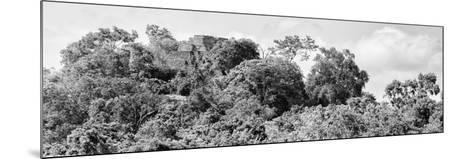 ¡Viva Mexico! Panoramic Collection - Ancient Maya City within the Jungle - Calakmul-Philippe Hugonnard-Mounted Photographic Print