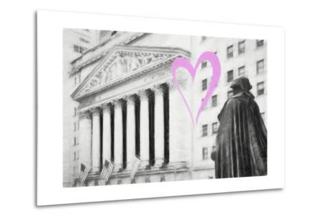 Luv Collection - New York City - Wall Street-Philippe Hugonnard-Metal Print