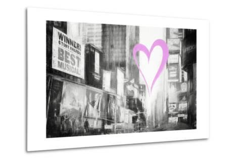 Luv Collection - New York City - Times Square-Philippe Hugonnard-Metal Print