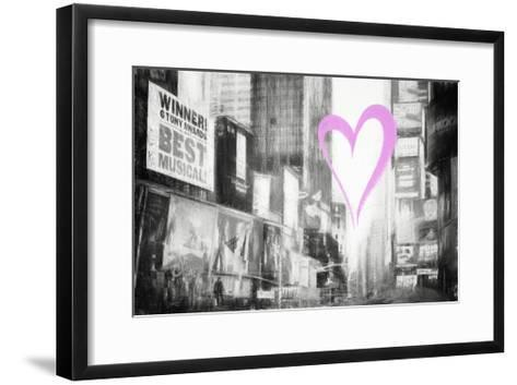 Luv Collection - New York City - Times Square-Philippe Hugonnard-Framed Art Print