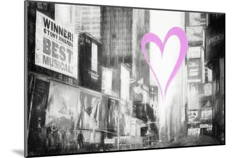 Luv Collection - New York City - Times Square-Philippe Hugonnard-Mounted Giclee Print