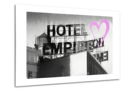 Luv Collection - New York City - Hotel Empire II-Philippe Hugonnard-Metal Print