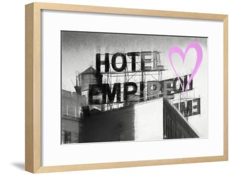 Luv Collection - New York City - Hotel Empire II-Philippe Hugonnard-Framed Art Print