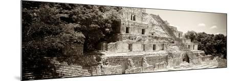 ¡Viva Mexico! Panoramic Collection - Maya Archaeological Site - Campeche VII-Philippe Hugonnard-Mounted Photographic Print