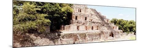 ¡Viva Mexico! Panoramic Collection - Maya Archaeological Site - Campeche VIII-Philippe Hugonnard-Mounted Photographic Print