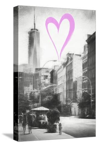 Luv Collection - New York City - Urban Street-Philippe Hugonnard-Stretched Canvas Print