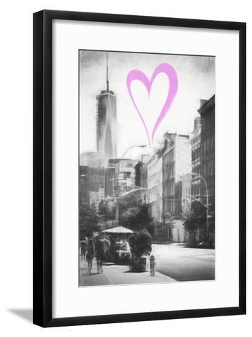 Luv Collection - New York City - Urban Street-Philippe Hugonnard-Framed Art Print