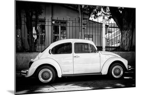 "?Viva Mexico! B&W Collection - ""Summer"" VW Beetle Car-Philippe Hugonnard-Mounted Photographic Print"