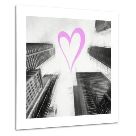 Luv Collection - New York City - Times Square Skyscrapers II-Philippe Hugonnard-Metal Print