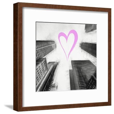 Luv Collection - New York City - Times Square Skyscrapers II-Philippe Hugonnard-Framed Art Print