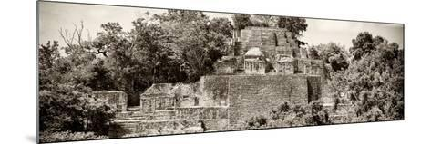 ?Viva Mexico! Panoramic Collection - Pyramid in Mayan City of Calakmul II-Philippe Hugonnard-Mounted Photographic Print