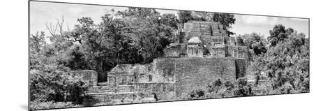 ?Viva Mexico! Panoramic Collection - Pyramid in Mayan City of Calakmul IV-Philippe Hugonnard-Mounted Photographic Print