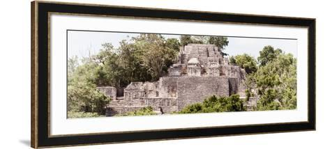 ?Viva Mexico! Panoramic Collection - Pyramid in Mayan City of Calakmul III-Philippe Hugonnard-Framed Art Print