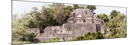 ?Viva Mexico! Panoramic Collection - Pyramid in Mayan City of Calakmul III-Philippe Hugonnard-Mounted Photographic Print
