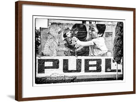 ?Viva Mexico! B&W Collection - Urban Art-Philippe Hugonnard-Framed Art Print