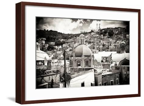 ?Viva Mexico! B&W Collection - Guanajuato III-Philippe Hugonnard-Framed Art Print