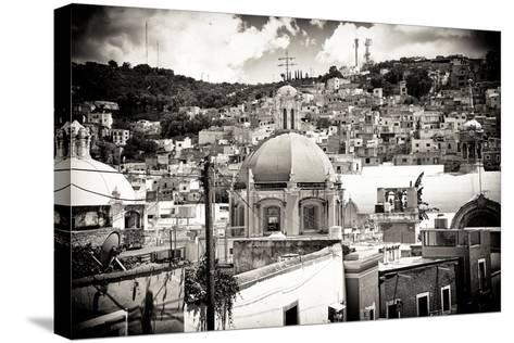 ?Viva Mexico! B&W Collection - Guanajuato III-Philippe Hugonnard-Stretched Canvas Print