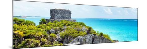 ¡Viva Mexico! Panoramic Collection - Caribbean Coastline - Tulum XII-Philippe Hugonnard-Mounted Photographic Print