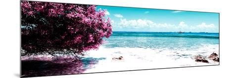 ¡Viva Mexico! Panoramic Collection - Caribbean Coastline II-Philippe Hugonnard-Mounted Photographic Print