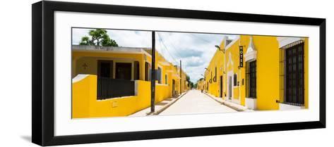 ¡Viva Mexico! Panoramic Collection - The Yellow City - Izamal II-Philippe Hugonnard-Framed Art Print