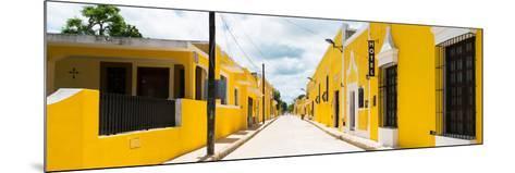 ¡Viva Mexico! Panoramic Collection - The Yellow City - Izamal II-Philippe Hugonnard-Mounted Photographic Print