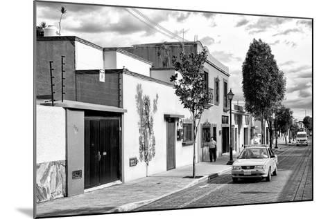 ¡Viva Mexico! B&W Collection - Mexican Street Oaxaca III-Philippe Hugonnard-Mounted Photographic Print