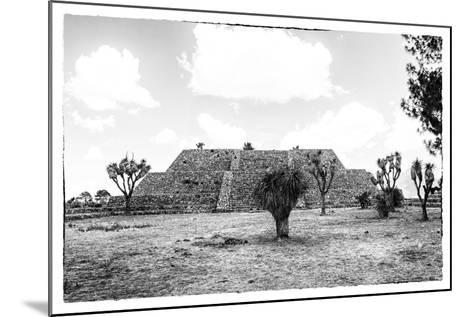 ?Viva Mexico! B&W Collection - Pyramid of Cantona IV-Philippe Hugonnard-Mounted Photographic Print