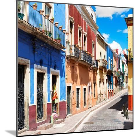 ¡Viva Mexico! Square Collection - Street Scene Guanajuato II-Philippe Hugonnard-Mounted Photographic Print