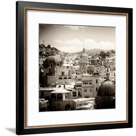 ¡Viva Mexico! Square Collection - Guanajuato Architecture III-Philippe Hugonnard-Framed Art Print