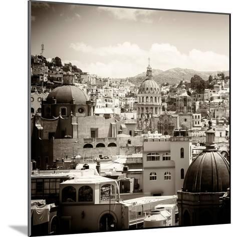 ¡Viva Mexico! Square Collection - Guanajuato Architecture III-Philippe Hugonnard-Mounted Photographic Print