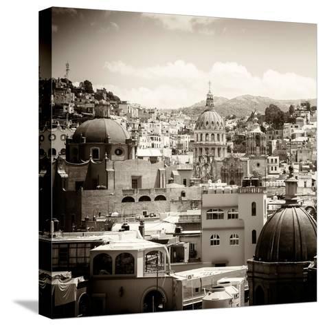 ¡Viva Mexico! Square Collection - Guanajuato Architecture III-Philippe Hugonnard-Stretched Canvas Print