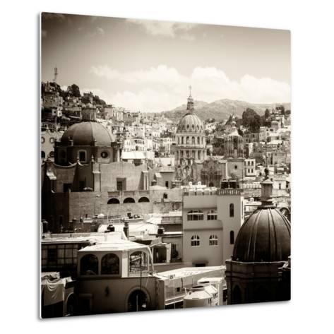 ¡Viva Mexico! Square Collection - Guanajuato Architecture III-Philippe Hugonnard-Metal Print