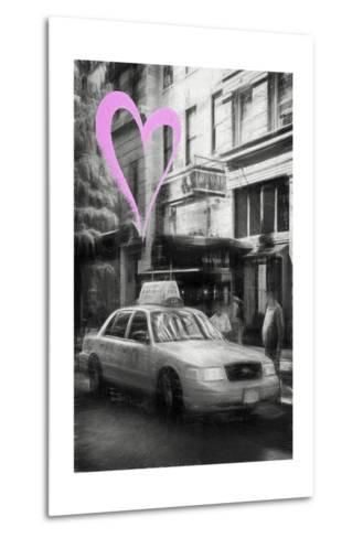 Luv Collection - New York City - Taxi Cabs-Philippe Hugonnard-Metal Print