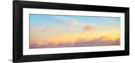 ¡Viva Mexico! Panoramic Collection - Sky at Sunset II-Philippe Hugonnard-Framed Art Print