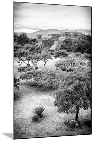 ?Viva Mexico! B&W Collection - Monte Alban Pyramids VI-Philippe Hugonnard-Mounted Photographic Print