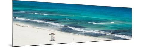 ¡Viva Mexico! Panoramic Collection - Blue Ocean and White Beach - Cancun-Philippe Hugonnard-Mounted Photographic Print