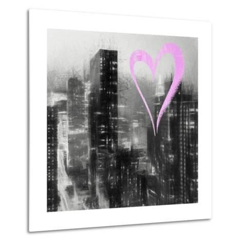 Luv Collection - New York City - Manhattan by Night II-Philippe Hugonnard-Metal Print