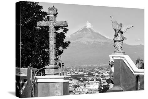 ?Viva Mexico! Collection - Popocatepetl Volcano in Puebla V-Philippe Hugonnard-Stretched Canvas Print